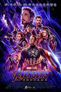 CloverWise Avengers End Game Movie Poster Official Movie Poster 24x36