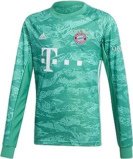 adidas 2019-2020 Bayern Munich Home Goalkeeper Football Soccer T-Shirt Jersey (Kids)