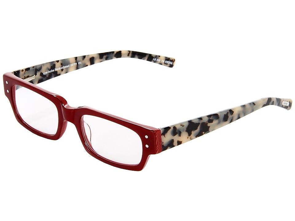 eyebobs Peckerhead Readers (Red/Black/White Tortoise) Reading Glasses Sunglasses