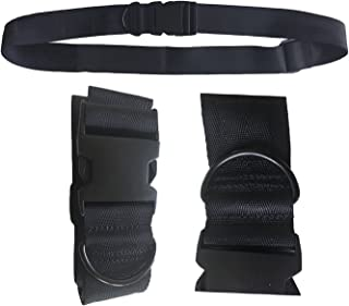 Universal Seat Belt for Wheelchair SB88-MEOS-Black, Up to 60
