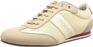 BOSS Herren Lighter Lowp Lowtop Sneakers aus Mesh und gummiertem Stoff Größe