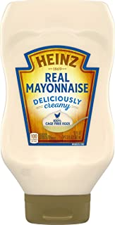 Heinz Real Mayonnaise (19 oz Bottle)