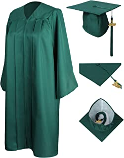 Matte Graduation Gown Cap Tassel 2018 and 2019 Charms for Bachelor and Ceremony