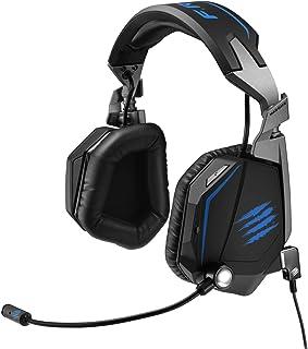 Mad Catz F.R.E.Q. TE Binaural Diadema Negro - Auriculares con micrófono (Consola de Juegos, 7.1 Canales, Binaural, Diadema, Negro, Alámbrico)