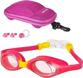 TOPLUS simglasögon simglasögon barnglasögon, skyddsglasögon simglasögon för barn antibeslag läckagesäker barnglasögon för ...
