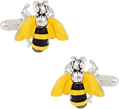 Cuff-Daddy Bumble Bee Cufflinks with Presentation Box