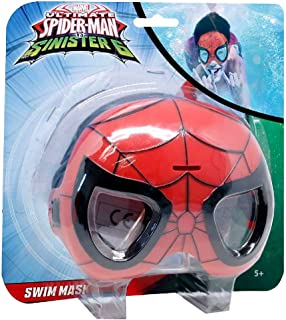Hasbro Spiderman Swim Mask, Multi-Colour, Mk902Sp