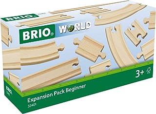 BRIO 63340100 Zestaw Torów Początkujący (63340100) Bezpieczna Zabawka Dla Dzieci Powyżej 3 Lat