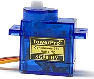 Tower Pro SG90-HV Continuous 360° Digital Servo - 2 Pack