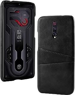 Xiaomi Mi 9T シェル, MeetJP 財布 シェル, レザーケース プレミアム PU レザー フリップ シェル カバー 〜と カード スロットs & キックスタンド の Xiaomi Mi 9T - Black