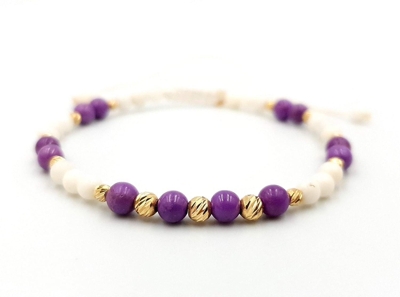 GOLD Cheap mail order shopping Bracelets Classic Bracelet in 14kt Bracele Beaded SOLID Yellow