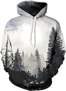 nature print hoodie