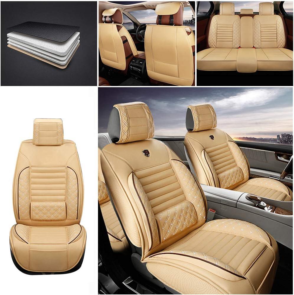売り出し Maiqiken Custom Auto Seat Cover XT5 セール特価品 for PU Embroidered Cadillac