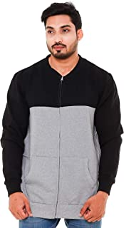 EASY 2 WEAR Men's Cotton Jacket Without Hood (Size S to 5XL)