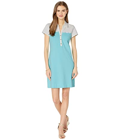 Lilly Pulitzer Tonda Polo Dress (Blue Ibiza) Women