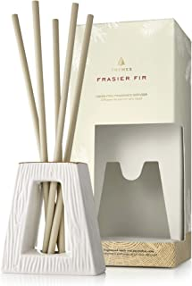 Thymes Frasier Fir Gilded Collection Liquid-Free Fragrance Diffuser