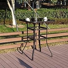 EMERIT Bistro Bar Table Outdoor High Top Table