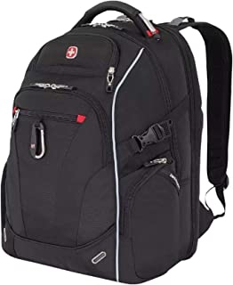 SWISSGEAR SA6752 TSA Friendly ScanSmart Laptop Backpack (Black)