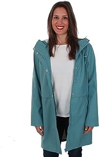 32cd84cd146 Vero Moda Cazadora Mujer Azul 10206601 VMFRIDAY 3/4 Coated Jacket Smoke Blue
