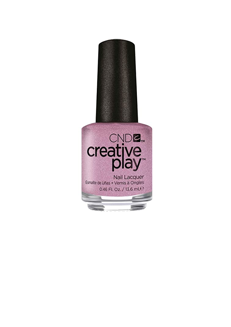垂直スカートパンサーCND Creative Play Lacquer - I Like to Mauve It - 0.46oz / 13.6ml