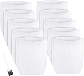 MXZONE Replacement Cloth Vacuum Filter Compatible with Makita T-03193, White (10 Pack)