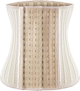 Ecowalson Waist Trainer for Women Weight Loss Corset Latex Waist Cincher Hourglass Body Shaper for Tummy Fat Burner