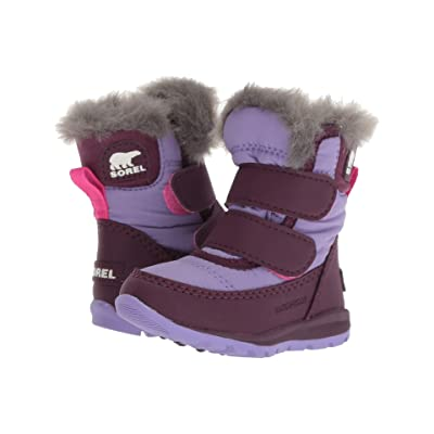 SOREL Kids Whitneytm Strap (Toddler) (Purple Dahlia/Paisley Purple) Girls Shoes