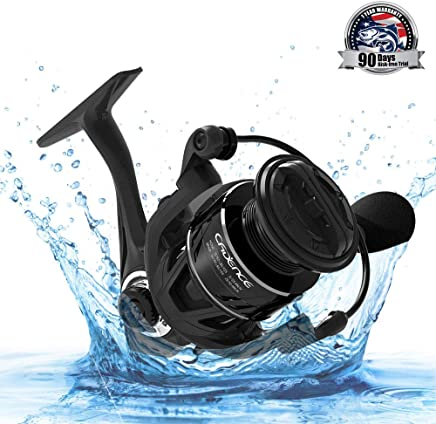 Cadence CS5 Spinning Reel, Ultralight Fast Speed Carbon...