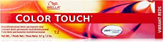 Wella Touch Multidimensional Demi-Permanent Hair Color, 5/5 Light Brown/Red Violet, 2 Ounce
