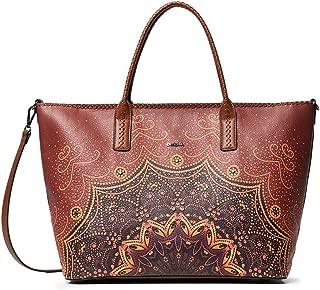 Luxury Fashion   Desigual Womens 19WAXP21BROWN Brown Tote   Fall Winter 19