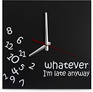 whatever i'm late anyways clock