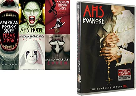 American Horror Story Seasons 1-6. The Complete series 1-6. Includes: American Horror Story: Roanoke