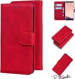 LODROC Lederen Portemonnee Case voor Galaxy S8, [Kickstand Feature] PU Lederen Portemonnee Case Flip Folio Cover met [Card...