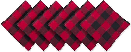 tartan fabric napkins