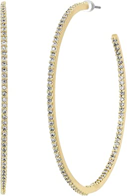 Kate Spade New York - Save The Date Large Hoop Earrings