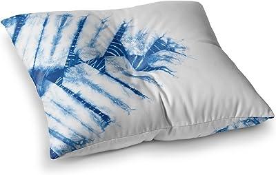 Kess InHouse Emine Ortega Graphique White Round Floor Pillow 26