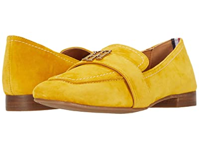 Tommy Hilfiger Trudiy (Yellow Suede) Women