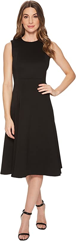 Calvin Klein - Solid A-line Dress with Pockets CD8M12JY
