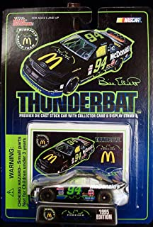 Racing Champions Bill Elliott McDonalds McDonalds Batman Forever Thunderbat by Nascar