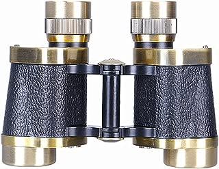 Byrhgood 8 X 30 Bronze Wide-Angle, Low-Light, Night Vision, Coordinate Ranging Shockproof Binocular HD High Power Telescope