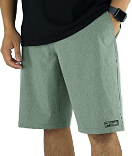 Men's Deep Sea Blue Hybrid Fishing Shorts | Fish Appear When Wet