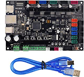 Gowoops MKS SBASE V1.3 3D Printer Control Board, 32bit Arm Platform Smooth Open Source MCU-LPC1768, Compatible with Smoothieware