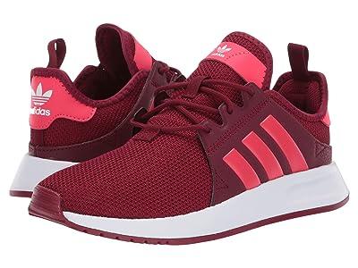 adidas Originals Kids X_PLR J (Big Kid) (Burgundy/Shock Red/White) Kids Shoes