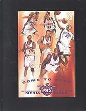 PHOENIX SUNS 2001-02 MEDIA GUIDE NBA BASKETBALL ANFERNEE HARDAWAY DAN MAJERLE