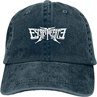 Escape The Fate Logo Unisex Baseball-Cap Adjustable Dad-Hat Navy
