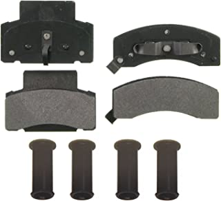American Black ABD459M Professional Semi-Metallic Front Disc Brake Pad Set Compatible With Chevrolet Express 2500 3500 K3500 Dodge Ram 2500 OE Premium Quality Perfect fit Quiet and DUST FREE
