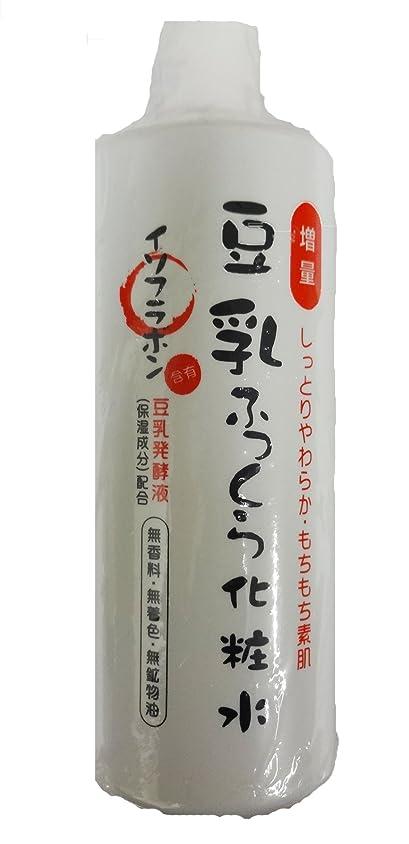 仮説バスダムビピット 豆乳ふっくら化粧水 485ml