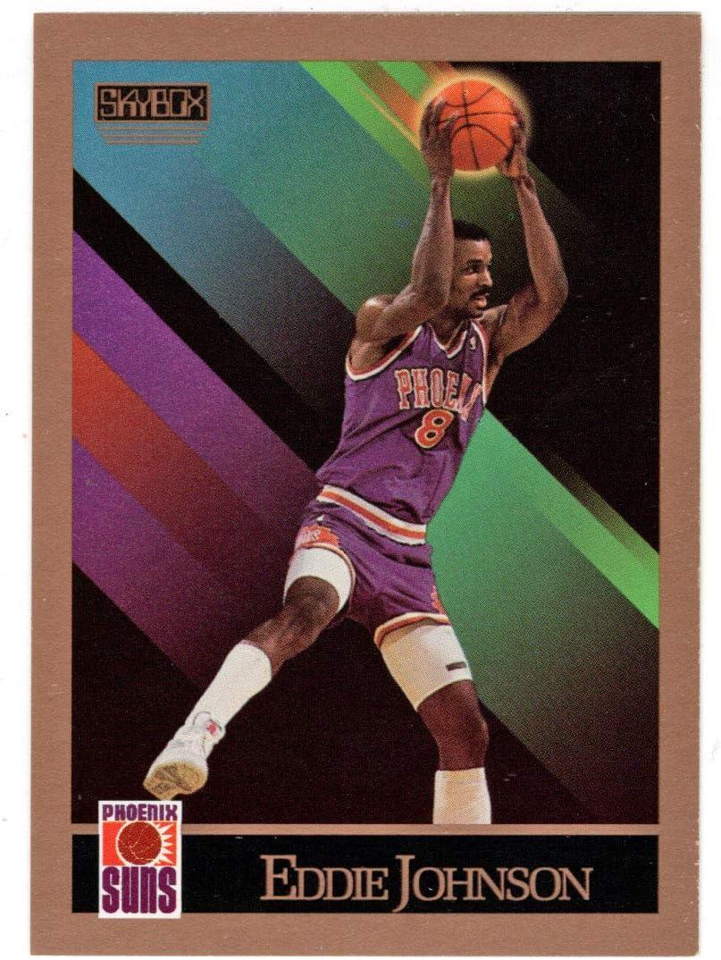 Eddie Johnson - Phoenix Suns Skybox # Omaha Mall Card 1990-91 Gifts Basketball