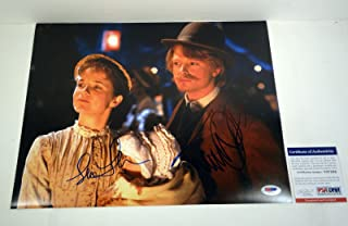 Michael J. Fox & Lea Thompson Back To The Future Signed Autograph 11x14 Photo PSA/DNA COA #1