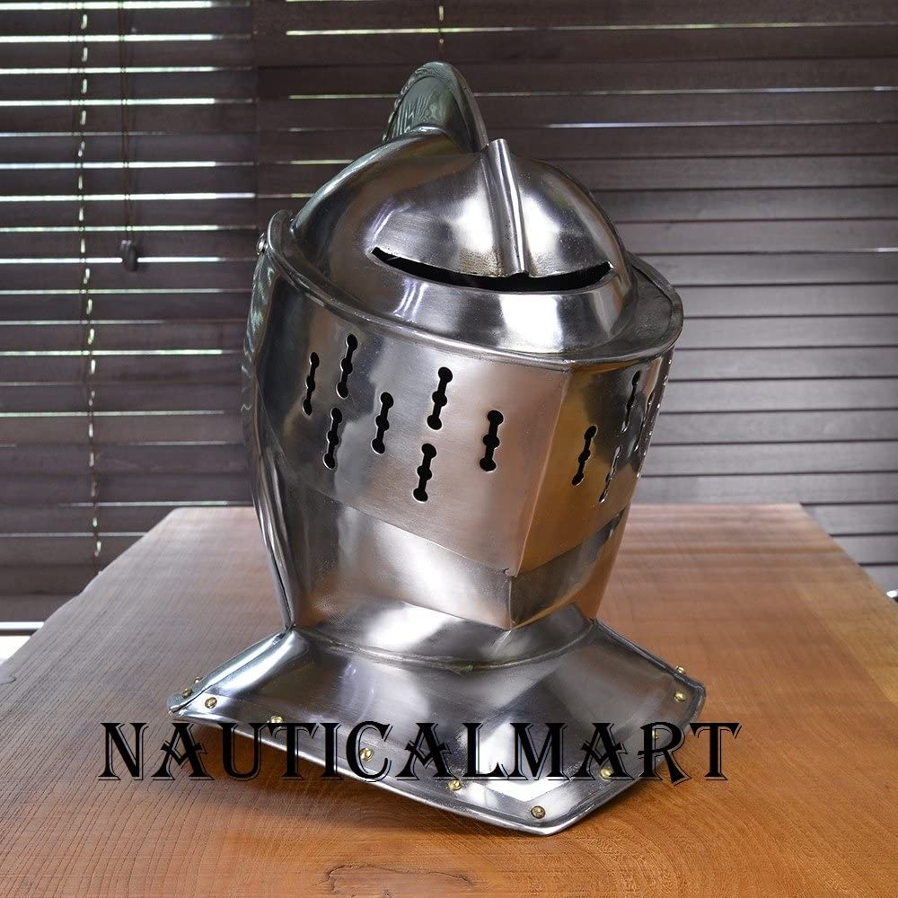 NAUTICALMART Western Armor Medieval Helme Helmet European Same day Limited time for free shipping shipping Knight